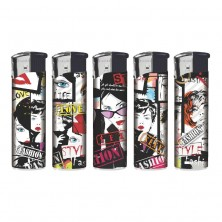 Fashion Pop Art Electric Lighters