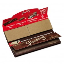 Smoking Brown Rolling Paper with Tips