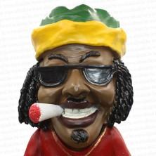 Jamaican Man Holding Ashtray Big