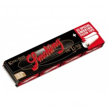 Smoking Black Deluxe Kingsize Rolling Papers With Tips