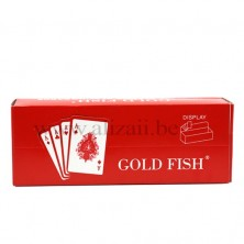Washable Gold Fish 100 % Plastic Playing Cards