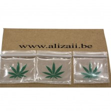 Zip Lock Bags with carrabian design