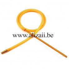 Hookah Hose Yellow Silicone Pipe Aluminum FDA Tubes