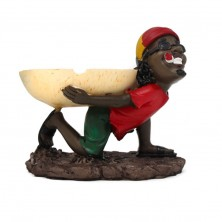 Ashtrays Design Bob Marley Jamaican Rasta Man