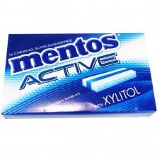 Mentos  Active Fresh Mint Chewing Gum Pack of 12
