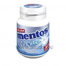 MENTOS GUM WHITE PEPPERMINT BOTTLE 40pcs