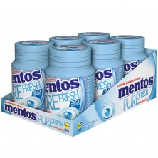 Mentos Pure Fresh Chewing Gum Sweet Mint Green Tea