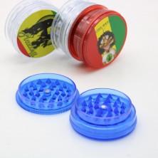 Plastic Tabak Grinder 60MM 3 Layers