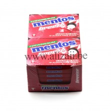 MENTOS GUM BREEZE STRAWBERRY 12PCS