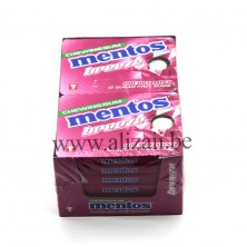 MENTOS GUM BREEZE CHERRY 12 Pcs