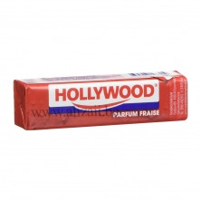 Hollywood Parfum Fraise Chewing Gum