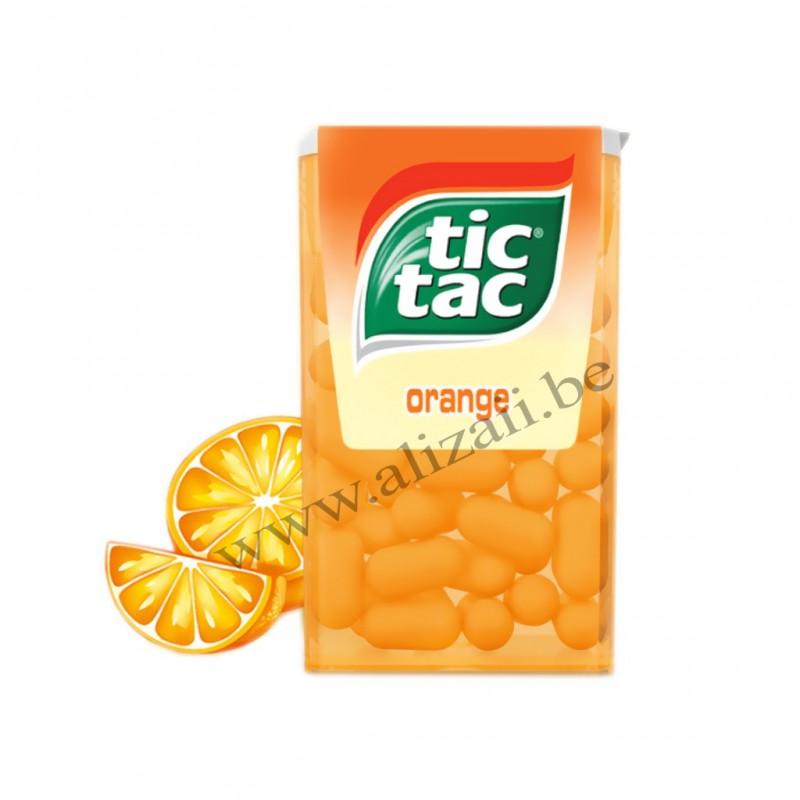 Tic Tac Orange 24 Pieces