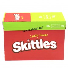 SKITTLES CRAZY SOURS 36 x 55g