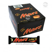 Mars Chocolate Bar 2x 24x70g