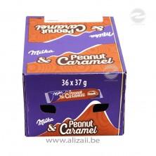 Milka Peanut & Caramel Bar 36x37g