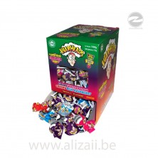 WARHEAD Super Sour BubbleGum Pops 100pcs