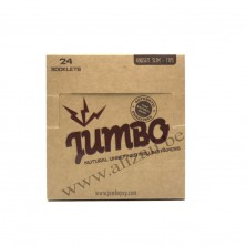 Jumbo Natural King Size Slim Papers and Tips