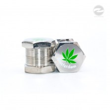 Screw Herb Metal Grinders 4 ayers