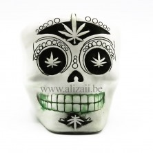 SUGAR SKULL ASHTRAY- White