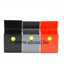 Smart waterproof plastic 20pcs cigarette case