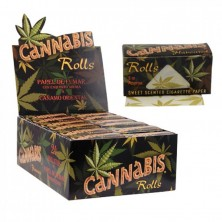 Original Cannabis Flavoured Hemp Paper Rolls 5m
