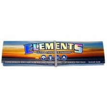 ELEMENTS CONNOISSEUR  KING SIZE SLIM + TIPS