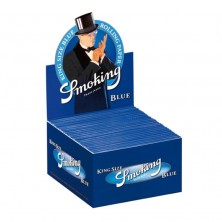 Smoking Blue King Size slim Rolling Paper