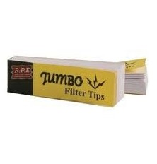 "Jumbo Filter Tips  ""Yellow Mellow"""