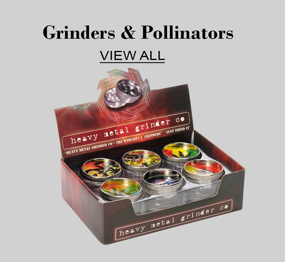 Grinders & Pillinators click here for more information